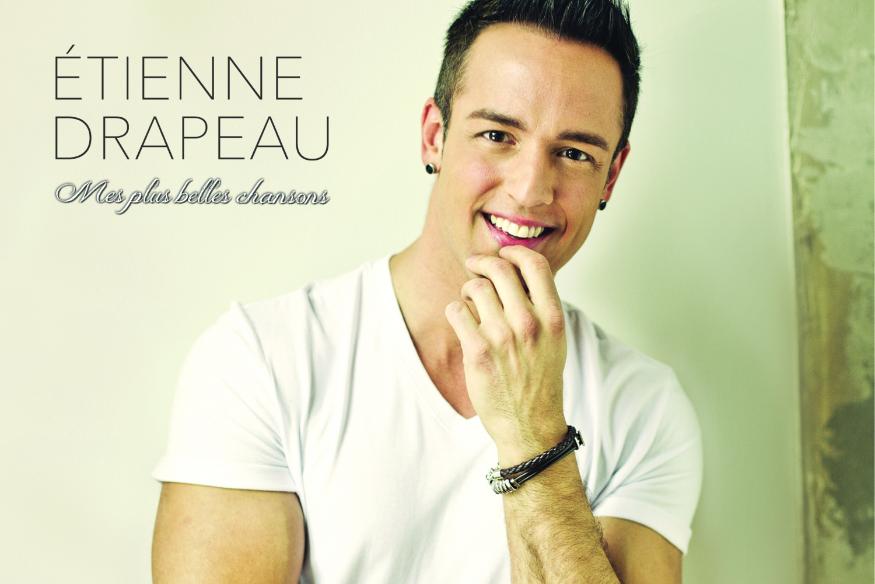 """Étienne Drapeau lance son album compilation """"Mes plus belles chansons""""."""