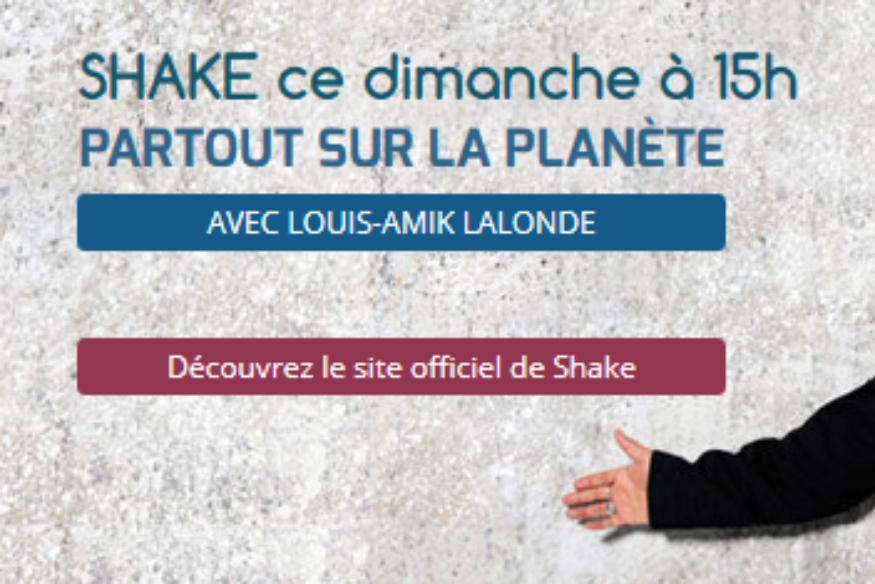 Shake en entrevue avec Louis-Amik sur Fréquence-Plaisir