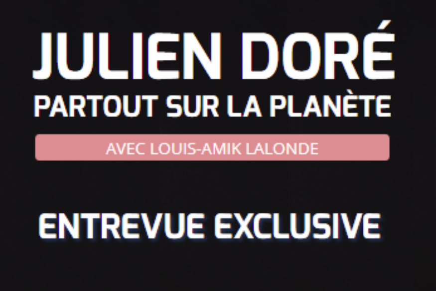 Julien Doré en entrevue avec Louis-Amik sur Fréquence-Plaisir