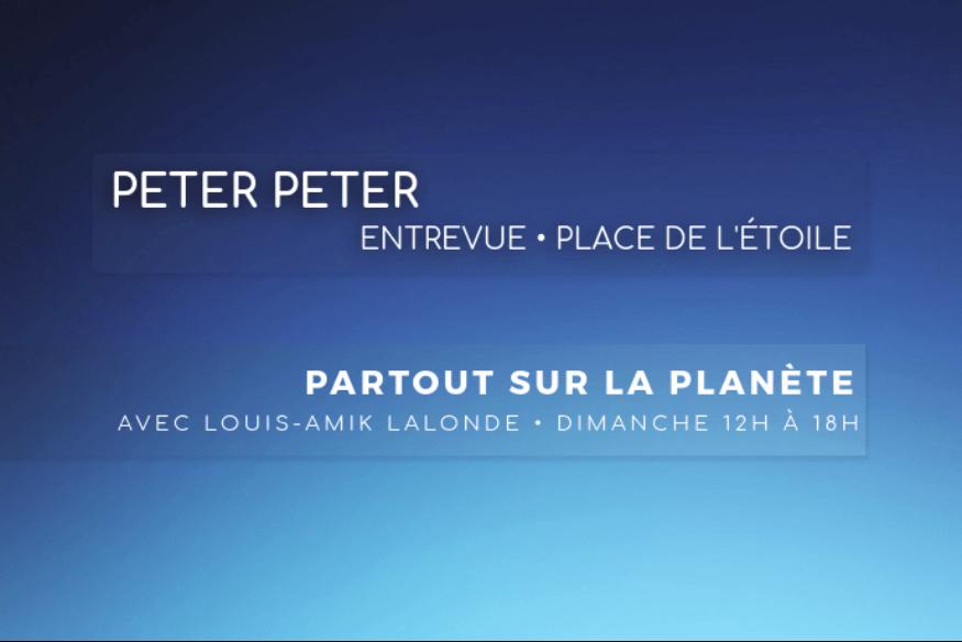Peter Peter en entrevue avec Louis-Amik