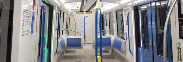 Le métro de Montréal présente ses nouvelles voitures pour 2014
