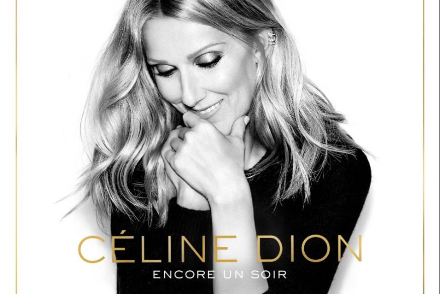 """Céline Dion présente un nouvel extrait de son album """"Encore un soir""""."""